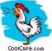 Chicken Vector Clip Art graphic