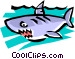 Shark Vector Clipart graphic