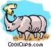 Rhinoceros Vector Clipart image