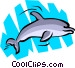 Dolphin Vector Clipart illustration