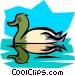 Duck Vector Clip Art image