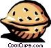 Walnut Vector Clip Art image