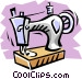 Sewing machine Vector Clipart illustration
