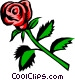 Rose Vector Clipart illustration