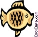 Cool fish Vector Clip Art graphic