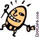 Humpty Dumpty Vector Clipart graphic