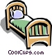 Bed Vector Clip Art picture