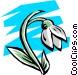 Flowers Vector Clip Art image