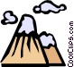 Mountains Vector Clipart picture
