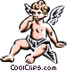 Angel Vector Clip Art graphic