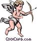 Angel Vector Clip Art image