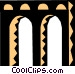Arches Vector Clipart image
