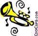 Trumpet Vector Clip Art image