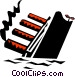 Titanic Vector Clipart graphic