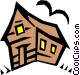 Haunted house Vector Clipart image