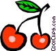 Cherries Vector Clipart picture