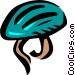 bike helmets Vector Clipart picture