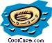 Life raft Vector Clipart picture