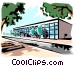 Office building Vector Clip Art picture