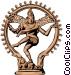 Siva Hinduism Vector Clip Art image