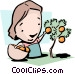 Easy-pickings Vector Clipart illustration