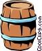 Barrel Vector Clipart graphic