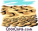 Land erosion Vector Clipart graphic