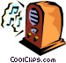 Radios Vector Clip Art picture