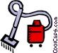 Vacuums Vector Clip Art image