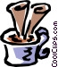 Hot drink Vector Clipart picture