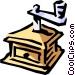 Coffee grinder Vector Clip Art image