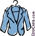 Sports jacket Vector Clipart illustration
