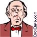 Ebenezer Scrooge Vector Clip Art image