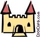 Castle Vector Clip Art image