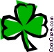 Cloverleaf Vector Clipart graphic
