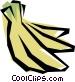 Bananas Vector Clip Art image