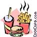 Hamburger Vector Clipart picture