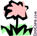 Flower Vector Clip Art graphic