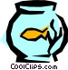 Fishbowl Vector Clipart image