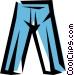 Pants Vector Clipart picture