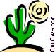 Cactus Vector Clipart graphic