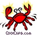 Crabs Vector Clipart image