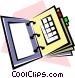 Appointment book Vector Clipart picture