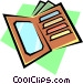 Billfold Vector Clipart graphic
