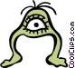 Aliens Vector Clip Art image