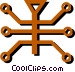 Circuit boards Vector Clip Art image
