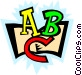 ABCs Vector Clip Art graphic