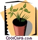 Houseplant Vector Clipart image