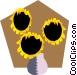 Houseplants Vector Clip Art image