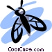 Flies Vector Clip Art graphic